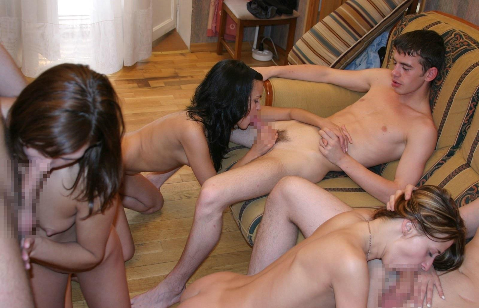 Russian Student Orgy High Quality Porn Photo